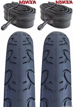 "2PAK KENDA KWEST 26x1.5"" Bike Tires & Tubes  Bicycle 26"" Roa"