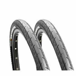 "2x  Maxxis Detonator MTB Bike Bicycle Tyres 26 x 1.5"".26 inc"