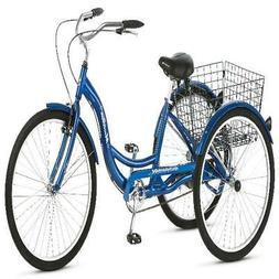 3 Wheel Bike Adult Tricycle Seniors Disabilities Trike 26 in