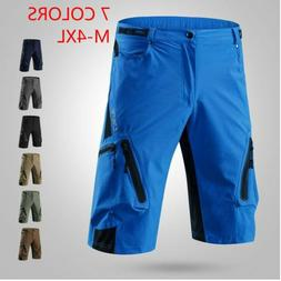 7 Colors M-4XL Men Cycling Shorts Mountain Bike Breathable L