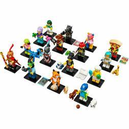 Lego 71025 Series 19 Minifigures Pizza Bear Dog Fox You Choo