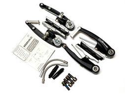 SRAM 9.0 Linear Pull Bike V-Brake Front + Rear Black