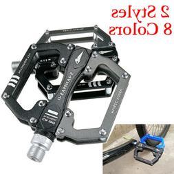 9 16 in mtb flat pedals aluminum