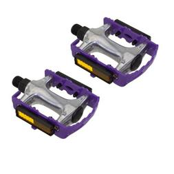 """940 Alloy Pedals 9/16"""" Purple Bicycle Bike Road MTB Cruiser"""