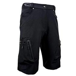 Cycorld Mens Mountain Bike Biking Shorts, Water Repellent MT