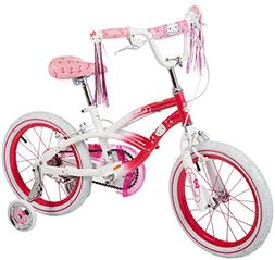 "Hello Kitty Dynacraft Girls BMX Street Bike 16"", Pink/White/"