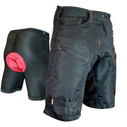 THE SINGLE TRACKER-Mountain Bike Cargo Shorts, With Premium