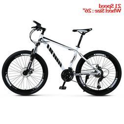 "Ablewipe Mountain Bike 26"" Wheels 21 Speed Carbon Frame Bicy"