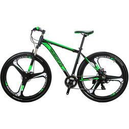 "Aluminium Mountain bike 29"" Mag wheels Shimano 21 Speed mens"