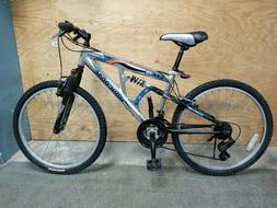 "Mongoose Aluminuim Element 24"" wheels, 21 speed Shimano equi"