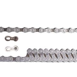 Bicycle Chain 6-7-Speed, 1//2 x 3//32-Inch, 116L, Dark Silver//Brown