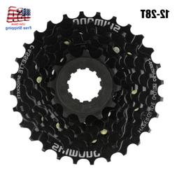 Bicycle Freewheel Cassette Sprocket 7 Speed 12-28T Mountain