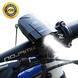 Bicycle Light | 2000mAh/1000 Lumen LED Bike Headlight USB Re