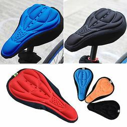 Road Bicycle Mountain Bike Cycling Saddle Seat Cover Gel Sil