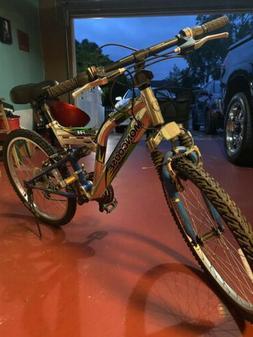 mongoose bike aluminum DXR AL