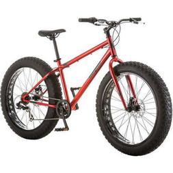 Mens Bike 26 in 7 speed Bicycle Fat Tire Mountain Beach Crui
