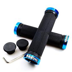 LYCAON Bike Handlebar Grips, Non-Slip-Rubber Bicycle Handle