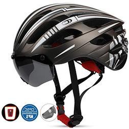 Basecamp Bike Helmet, Bicycle Helmet with CPSC Certified Mag