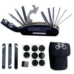 DAWAY B32 Bike Repair Tool Kits - 16 in 1 Multi function Bic