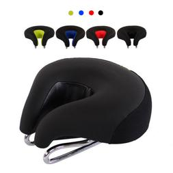 Men Breathable Mountain Bike Seat Bicycle Saddle No Nose Com