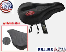 Bike Seat Cover Gel Comfort Cushion Cover Soft Padded Mounta