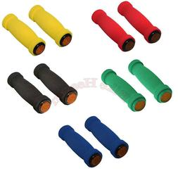 Bike Short Foam Grips WITH REFLECTOR Soft MTB Lowrider BMX B
