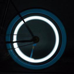 Glumes Bike Wheel Lights, LED Waterproof Bicycle Spoke Light