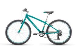 Raleigh Bikes Lily 24 Kids Mountain Bike For Girls Youth, Te