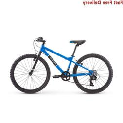 RALEIGH Bikes Rowdy 24 Kids Mountain Bike for Boys Youth 9-1