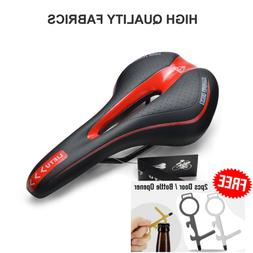 Black MTB Cycling Road Mountain Bicycle Cushion Seat Saddle