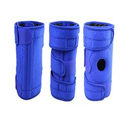 ETbotu 1 Piece Blue Mountaineering Knee pad for Right Leg wi