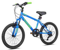 """Boy's Mountain Kids 20"""" Bike Summer Bicycle Brakes 6-speed S"""