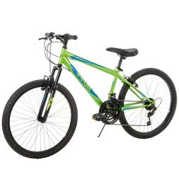 Huffy Boys Mountain Bike 24 inch 18 Speed Alpine, NEW