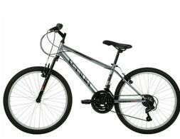 "Brand New 24"" Huffy Mountain Bike Rock Creek 18-Speed Mounta"