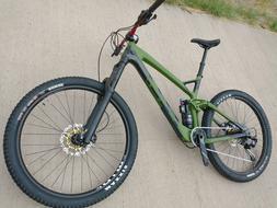 Brand New Carbon Fiber Felt Compulsion 170mm rear and 180mm