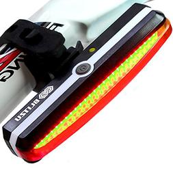 ALL NEW Brightest USB Rechargeable Bike Tail Light - Blitzu