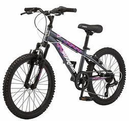 """20"""" Girls Boys Mongoose Byte Bike, Grey Bicycle NEW Aluminum"""
