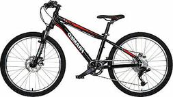 Framed Cable 24 w/ RST Fork Mountain Bike Kids Sz 24in