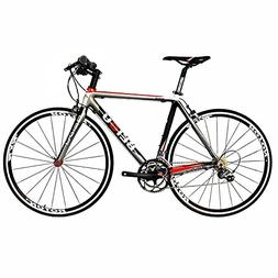 BEIOU Carbon Comfortable Bicycles 700C Road Bike LTWOO 210 S