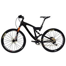 BEIOU Carbon Dual Suspension Mountain Bicycles All Terrain 2
