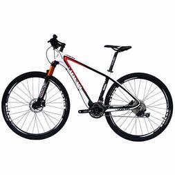 BEIOU Carbon Fiber Mountain Bike 29er MTB 30 Speed SHIMANO M