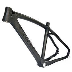 BEIOU 3k Carbon Fiber Mountain Bike Frame T800 Ultralight 26