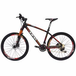 BEIOU Carbon Mountain Bike 17inch Hardtail MTB SHIMANO M610
