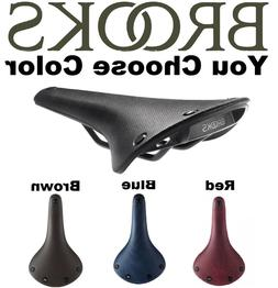 Colored Brooks Cambium C17 ALL WEATHER Saddle Natural Rubber