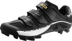 Mavic Men's Crossride SL Mountain Bike Shoes, Black/White, S