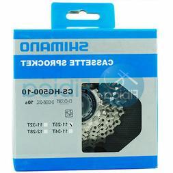 Shimano CS-HG500-10-speed Road Mountain Cassette 11-42t/34t/