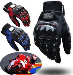 Cycling Anti-slip Gloves Full Finger Mountain Bike BMX Motoc