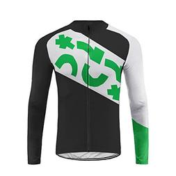 Uglyfrog Mens Cycling Jerseys, Long Sleeve Cycle Tops, Mount
