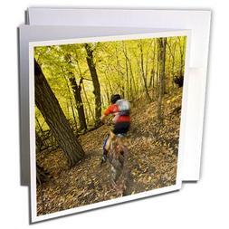 3dRose Danita Delimont - Bicycling - Bicycling, Mountain bik