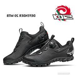 Sidi DEFENDER 20 MTB Outdoor Mountain Bike Shoes : BLACK - N